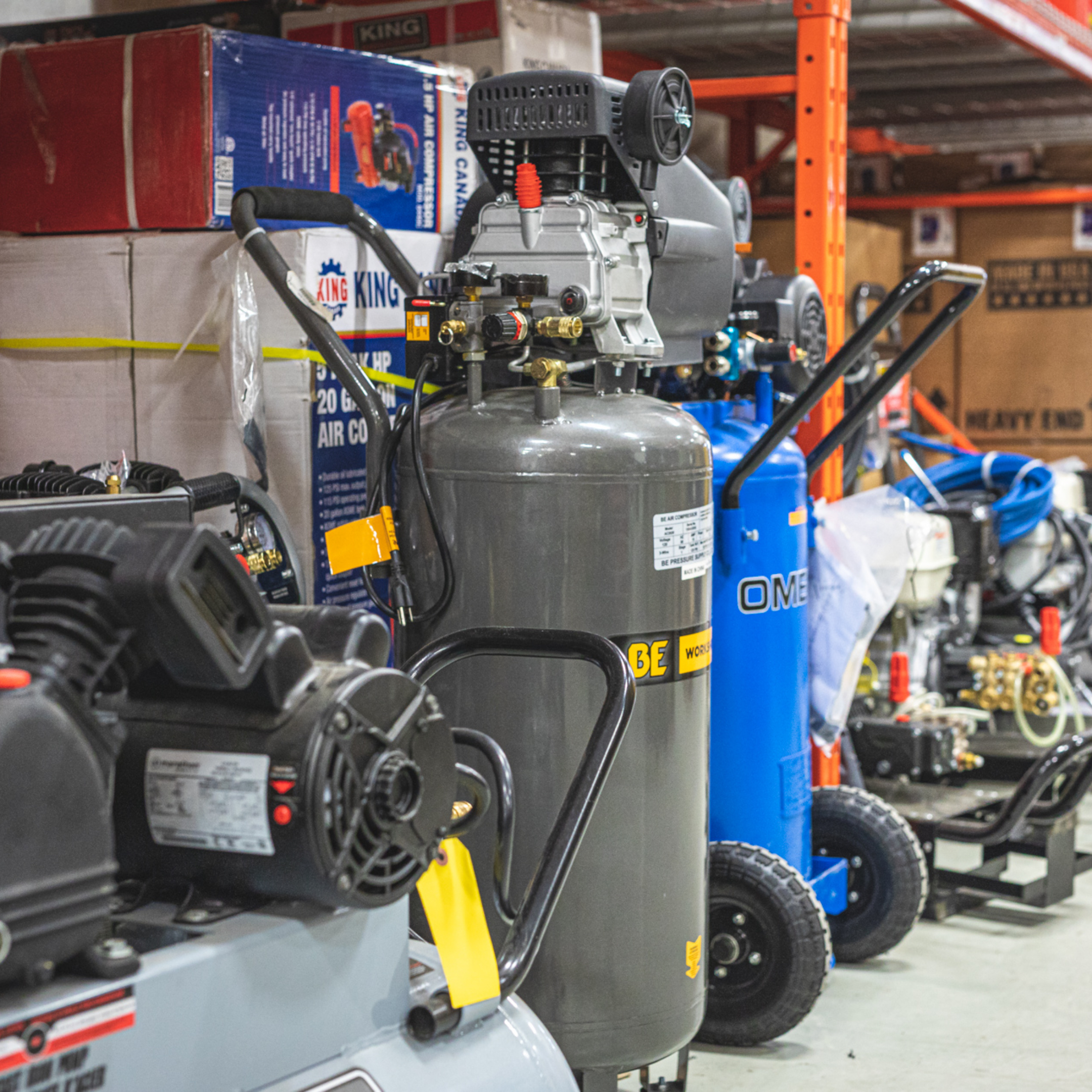 Air Compressors Photo