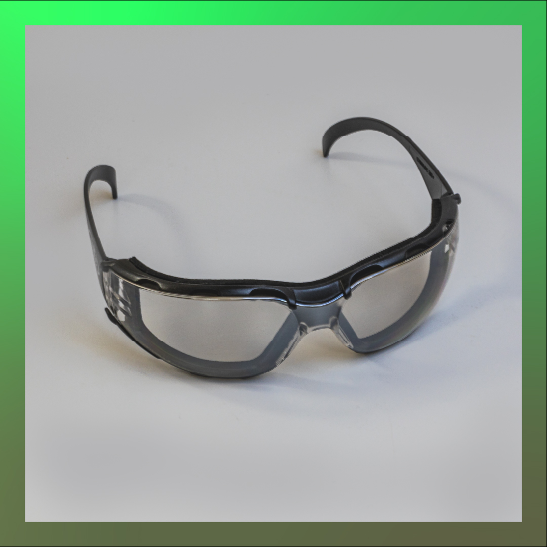 safety glasses black heavy duty
