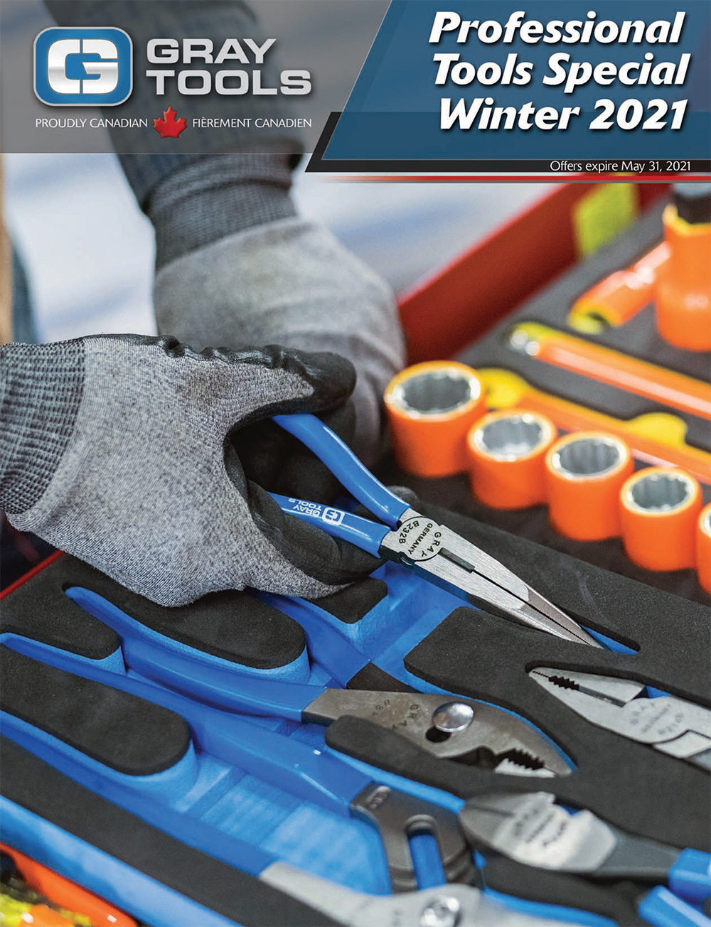 GRAY TOOLS PROFESSIONAL TOOLS SPECIAL WINTER 2021